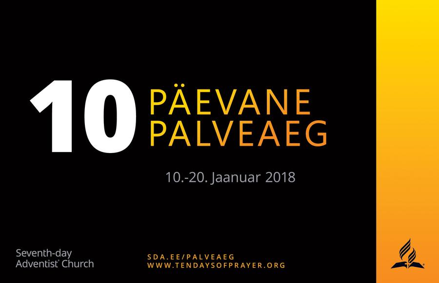 10palveaeg 10 päevane palveaeg 2018