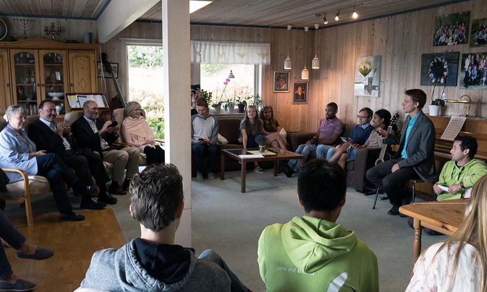 Wilson külastas Norra misjonikooli