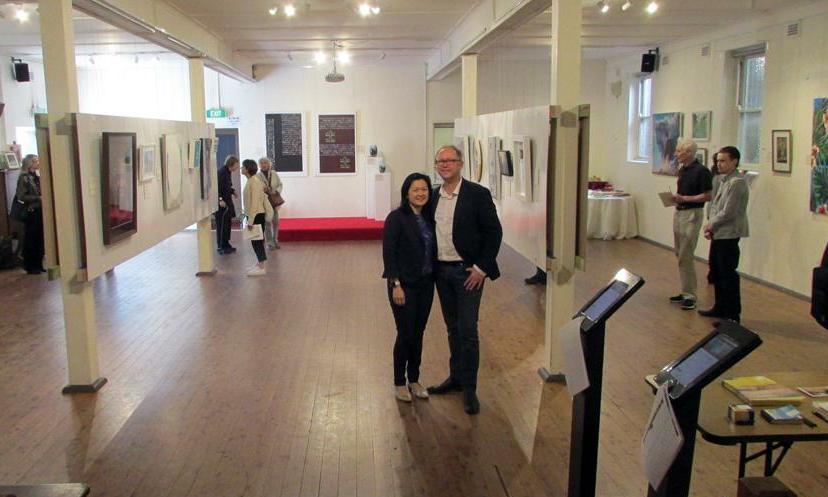Kohalik kogudus kõnetab kogukonda kunstitundide ja -näituse kaudu