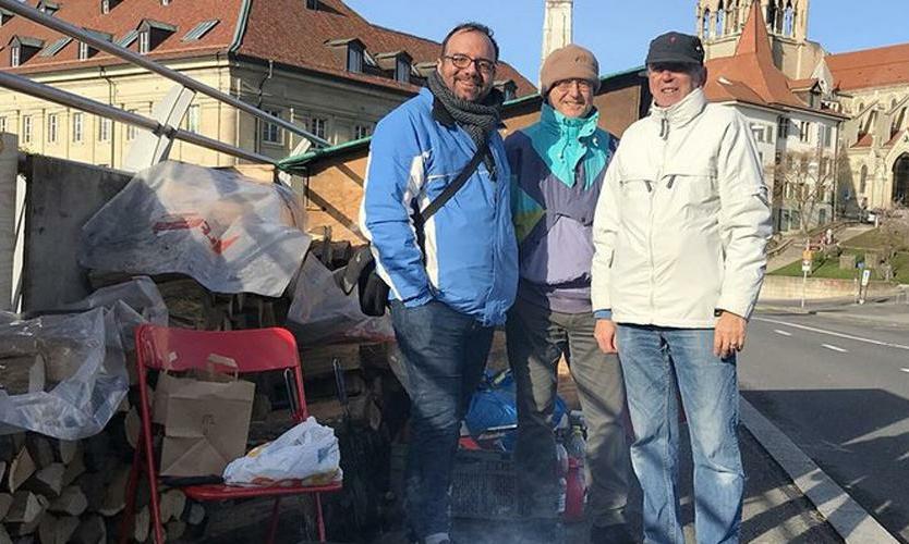 Šveitsi adventistid osalesid suitsiidiennetuse algatuses
