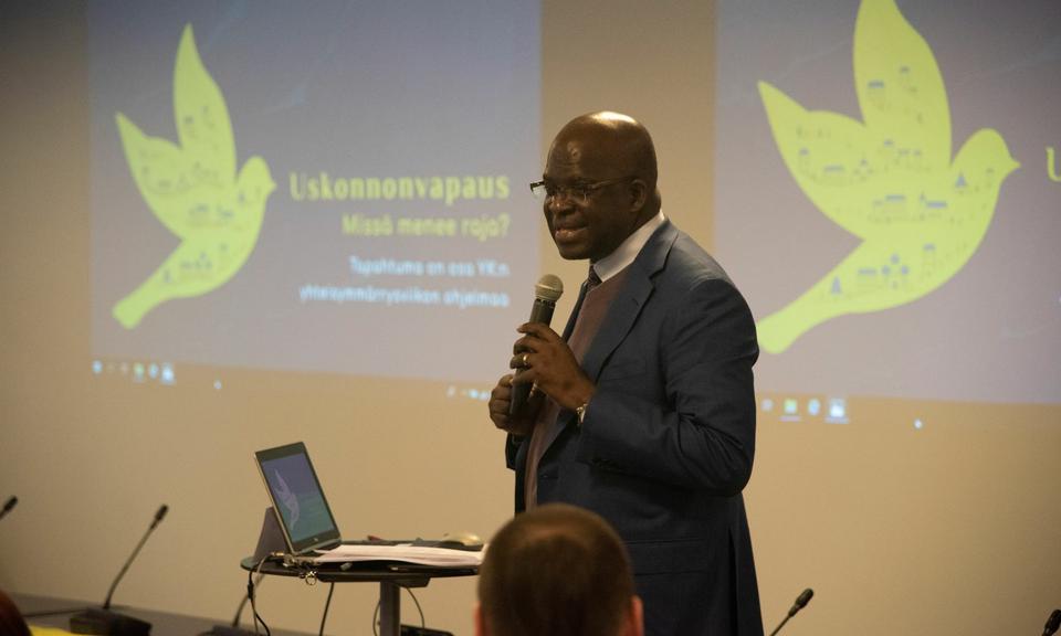 Usuvabaduse-alane seminar Soomes