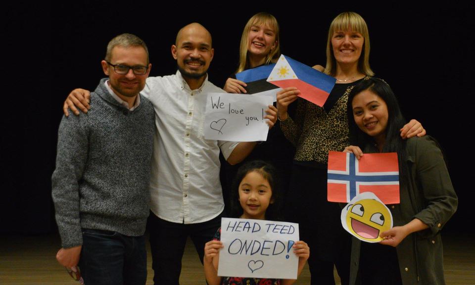 Misjonäriperekond Ondele peeti Tallinnas üllatus-lahkumispidu. Lisatud Delfredi ja Hannah' pöördumine