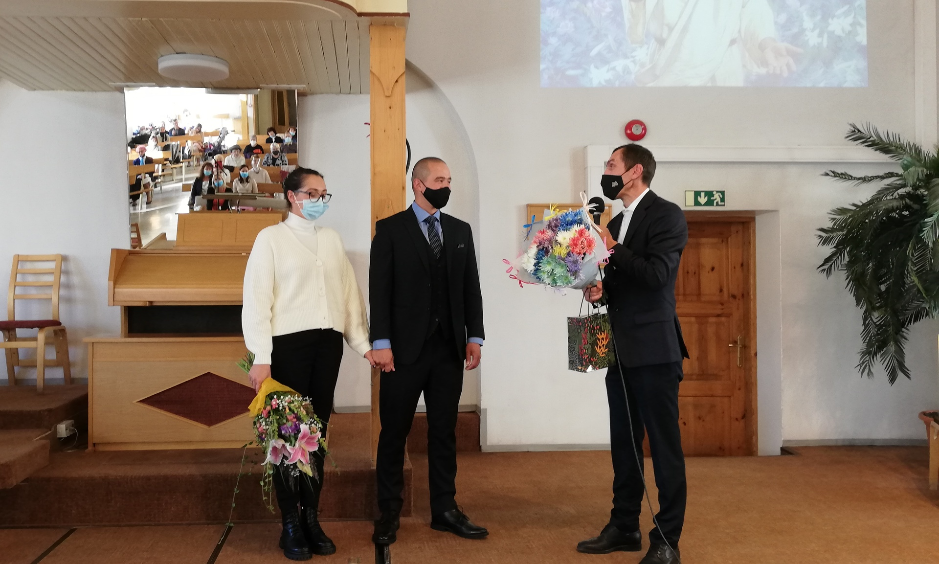 Tallinna III kogudus tervitas uut pastorit