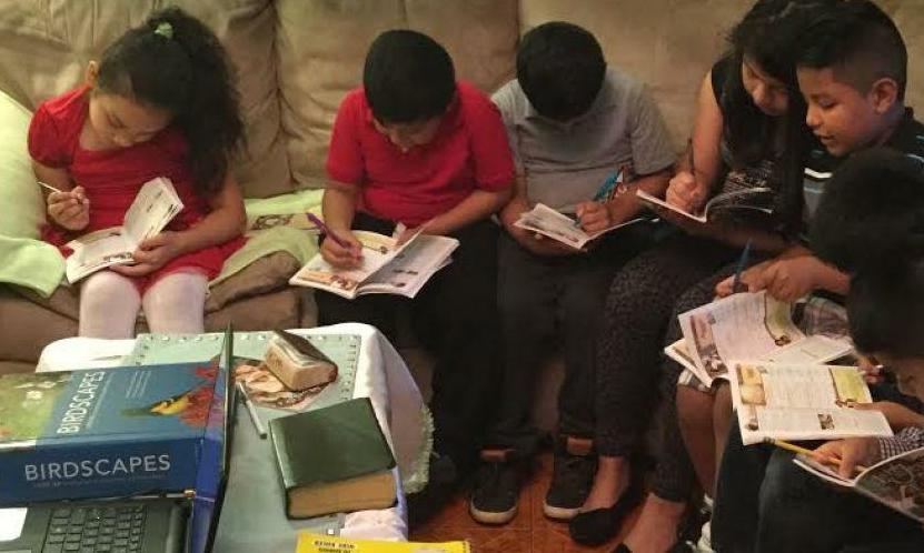 10-aastase poisi piiblitundide kaudu on ristimisele tulnud kaheksa last